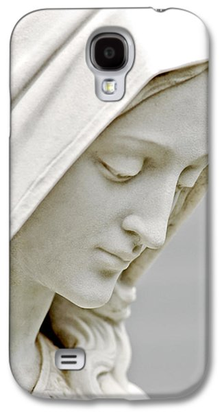 Statue Portrait Galaxy S4 Cases - Mother Mary Comes to Me... Galaxy S4 Case by Greg Fortier