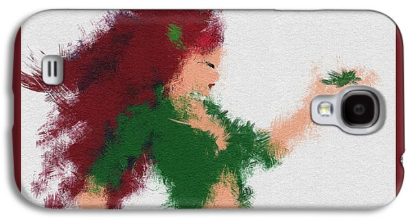 Character Portraits Paintings Galaxy S4 Cases - Mother Nature Galaxy S4 Case by Miranda Sether