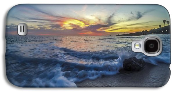 Beach Landscape Photographs Galaxy S4 Cases - Mother Natures Fireworks Galaxy S4 Case by Sean Foster