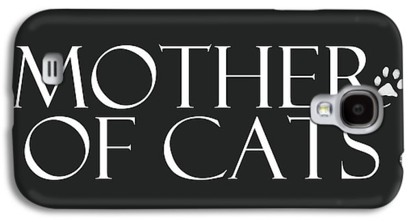Mother Of Cats- By Linda Woods Galaxy S4 Case by Linda Woods