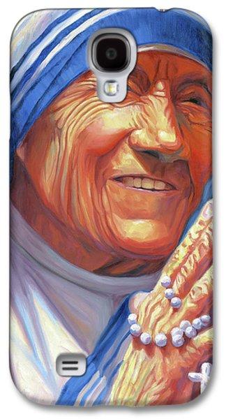 Mother Teresa Galaxy S4 Case by Steve Simon