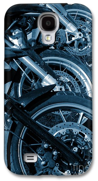 Motorbike Wheels Galaxy S4 Case by Carlos Caetano