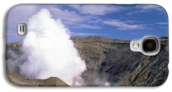 Galaxy S4 Case featuring the photograph Mount Aso by Travel Pics