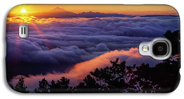 Constitution Galaxy S4 Cases - Mount Constitution Sunrise Galaxy S4 Case by Inge Johnsson
