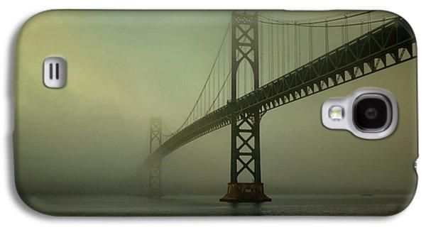 Gordon Photographs Galaxy S4 Cases - Mount Hope Bridge Galaxy S4 Case by Dave Gordon