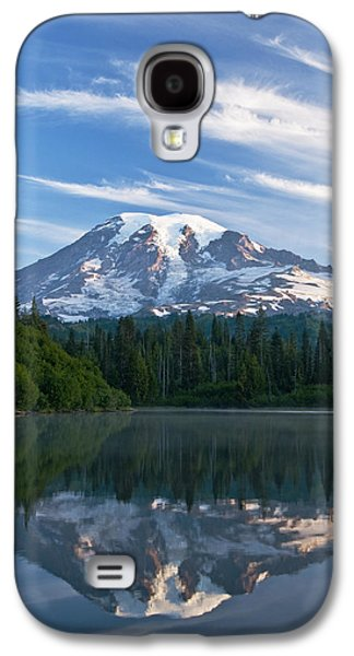 Printscapes - Galaxy S4 Cases - Mount Rainier Reflections Galaxy S4 Case by Greg Vaughn - Printscapes