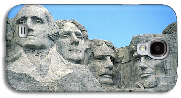 President Of Usa Galaxy S4 Cases - Mount Rushmore Galaxy S4 Case by American School