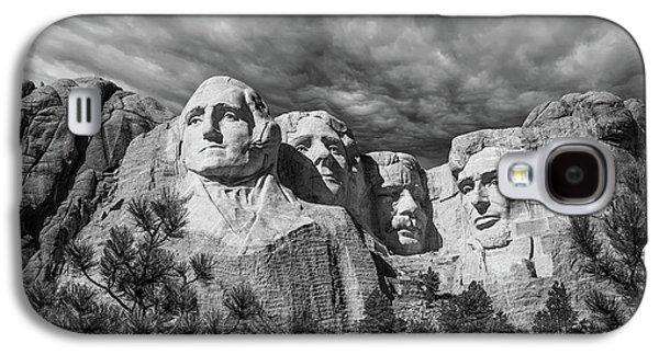Mount Rushmore II Galaxy S4 Case by Tom Mc Nemar