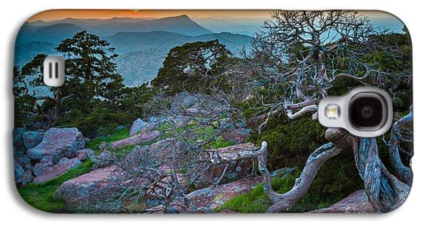 Wildlife Refuge. Galaxy S4 Cases - Mount Scott Sunset Galaxy S4 Case by Inge Johnsson