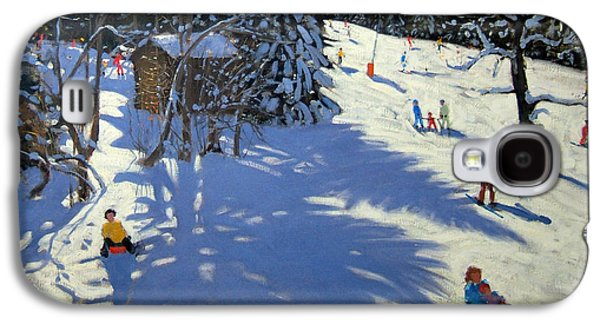 Mountain Hut Galaxy S4 Case by Andrew Macara