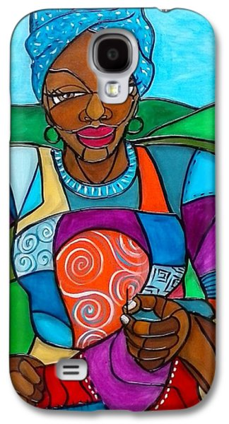 African-american Galaxy S4 Cases - Mountain Quilter Galaxy S4 Case by Jenny Pickens