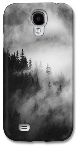 Outdoors Galaxy S4 Cases - Mountain Whispers Galaxy S4 Case by Mike  Dawson