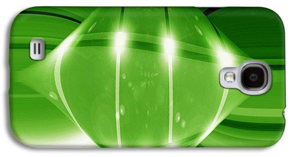 Abstracted Galaxy S4 Cases - MoveOnArt GoodGoGreen Galaxy S4 Case by Jacob Kanduch