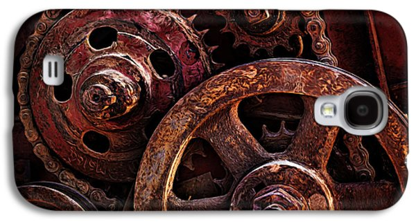 Mechanism Galaxy S4 Cases - Moving Parts Galaxy S4 Case by Mary Jo Allen