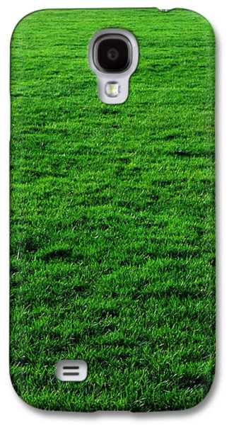 Green Galaxy S4 Cases - Mow the Lawn Galaxy S4 Case by Cynthia Decker