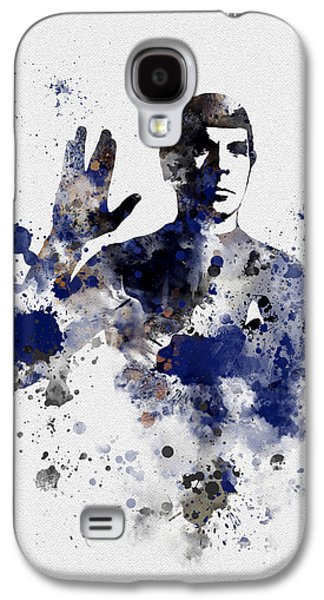 Mr Spock Galaxy S4 Case by Rebecca Jenkins