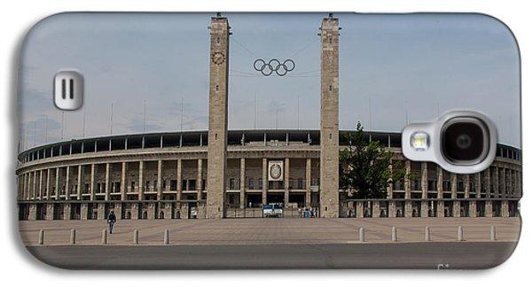 Berlin Olympic Stadium Galaxy S4 Case by Stephen Smith