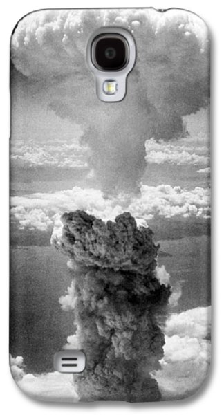Atomic Galaxy S4 Cases - Mushroom Cloud Over Nagasaki  Galaxy S4 Case by War Is Hell Store