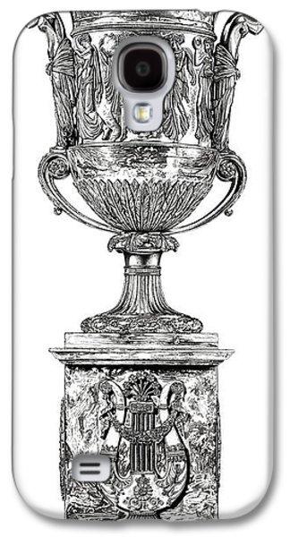 European Sculptures Galaxy S4 Cases - Musical Urn _ V1 Galaxy S4 Case by Bruce Algra