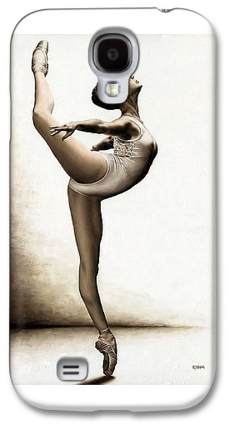 Recently Sold -  - Light Galaxy S4 Cases - Musing Dancer Galaxy S4 Case by Richard Young
