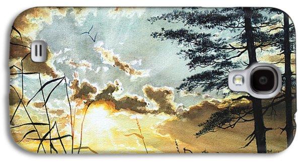 Lore Galaxy S4 Cases - Muskoka Dawn Galaxy S4 Case by Hanne Lore Koehler
