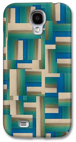 My Coastal Colors Harmony Inspire Your Home Galaxy S4 Case by Betsy C Knapp