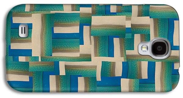My Coastal Colors Harmony Wave Galaxy S4 Case by Betsy C Knapp