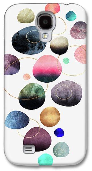 My Favorite Pebbles Galaxy S4 Case by Elisabeth Fredriksson