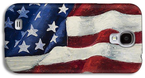 My Flag Galaxy S4 Case by Jodi Monahan