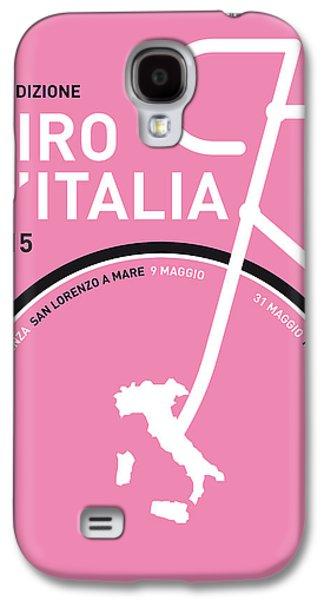 My Giro D'italia Minimal Poster 2015 Galaxy S4 Case by Chungkong Art