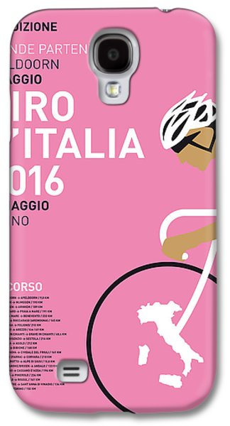My Giro Ditalia Minimal Poster 2016 Galaxy S4 Case by Chungkong Art