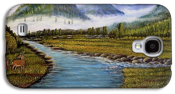 My Morning Walk With God Galaxy S4 Case by Kimberlee Baxter
