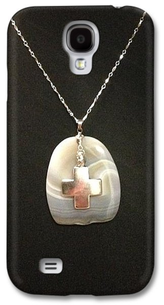 Religious Jewelry Galaxy S4 Cases - My Rock Galaxy S4 Case by Sarah B