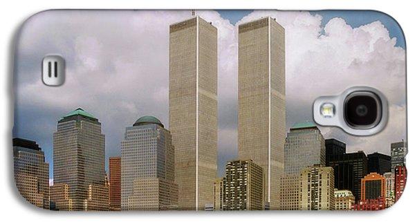 Twin Towers Nyc Galaxy S4 Cases - My Skyline Galaxy S4 Case by Joann Vitali