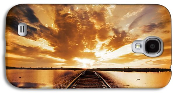 Rail Digital Galaxy S4 Cases - My Way Galaxy S4 Case by Photodream Art