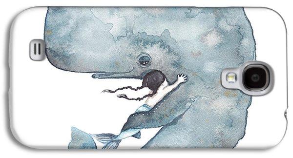 My Whale Galaxy S4 Case by Soosh