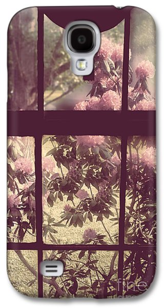 Old House Photographs Galaxy S4 Cases - My Window Galaxy S4 Case by Mindy Sommers