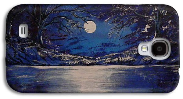 Mystery At Moonlight 1 Series Galaxy S4 Case by Mario Lorenz