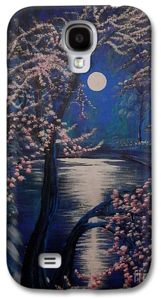 Mystery At Moonlight 2 Series Galaxy S4 Case by Mario Lorenz
