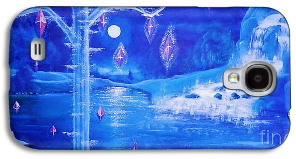 Mystery At Moonlight 3 Series Galaxy S4 Case by Mario Lorenz