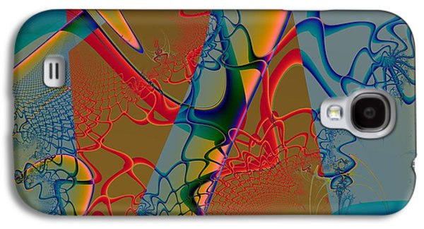 Abstract Forms Galaxy S4 Cases - Mystery of LIfe Galaxy S4 Case by Solomon Barroa