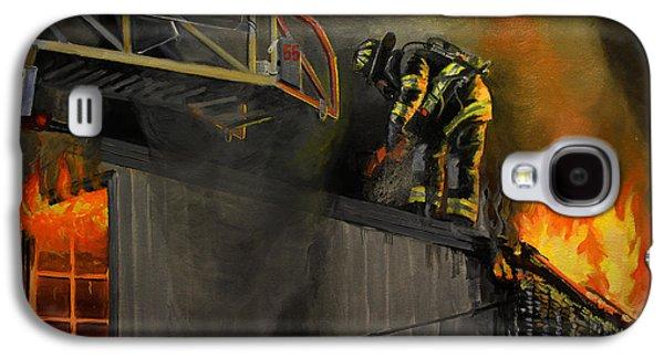 Mystic Fire Galaxy S4 Case by Paul Walsh
