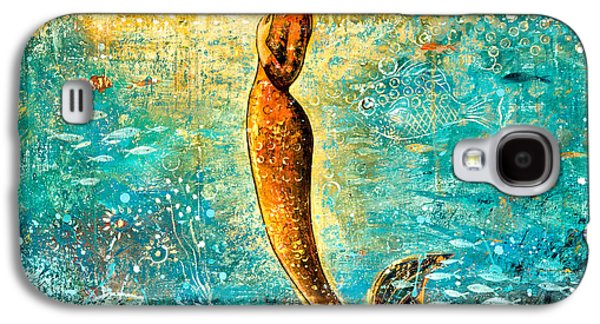 Mystic Mermaid Iv Galaxy S4 Case by Shijun Munns