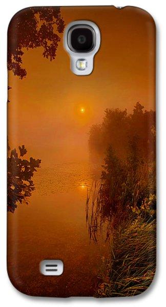Fog Mist Galaxy S4 Cases - Mystic Morn Galaxy S4 Case by Phil Koch