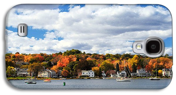 Mystic Galaxy S4 Cases - Mystic River in Autumn Galaxy S4 Case by Stephanie McDowell