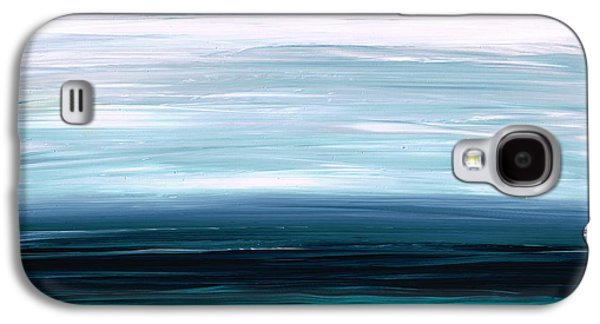 Earth Tones Galaxy S4 Cases - Mystic Shore Galaxy S4 Case by Sharon Cummings