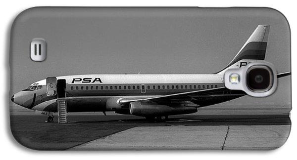 N462gb, Boeing 737-293, Long Beach, California, Lgb Galaxy S4 Case by Wernher Krutein