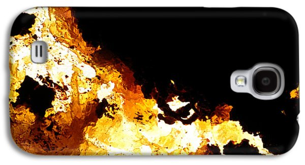 Modern Abstract Galaxy S4 Cases - NA Nine Black Hole Sun Galaxy S4 Case by Kika Pierides