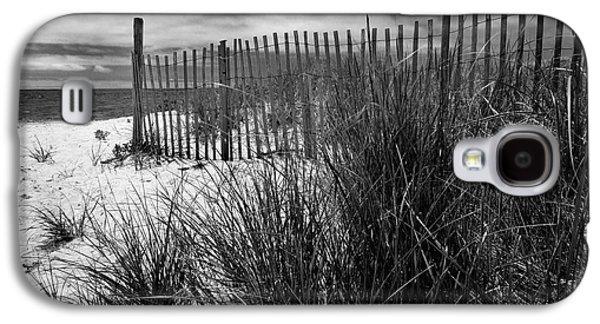 Nantucket Harbor Beach Dunes  Galaxy S4 Case by Thomas Schoeller