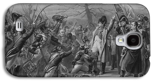Revolution Mixed Media Galaxy S4 Cases - Napoleon Returns From Elba Galaxy S4 Case by War Is Hell Store